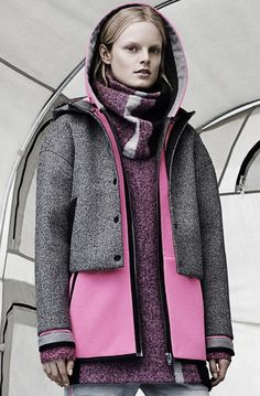 Hanne Gaby Odiele for T by Alexander Wang Fall/Winter 2014