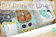 Thanks to @Daniellewilson from mysparkle and her DIY Drawer Liner Tutorial -- I have a plan for the weekend. Love. It.