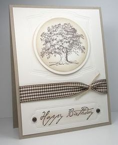 CAS Lovely As A Tree by die cut diva - Cards and Paper Crafts at Splitcoaststampers