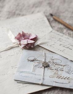 A Dash of Whimsy - princesspastelrose: Vintage, classic & romantic. Aesthetic Letters, Lexa Y Clarke, Old Letters, Photo Vintage, Handwritten Letters, Old Love, Vintage Lettering, Lost Art, Jolie Photo