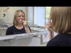 Hampaiden harjaus - YouTube