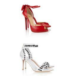 Zapatos de fiesta con ankle strap - Foto Net a Porter