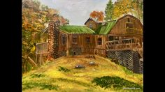 Emory Lodge is a wonderful secluded lodge nestled in the western North Carolina mountains near Robbinsville. This Plein Air study is Oil on an canvas b. Painting Videos, Landscapes, Study, Paintings, Oil, Artist, Youtube, Paisajes, Scenery