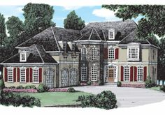 Flanagan - Home Plans and House Plans by Frank Betz Associates