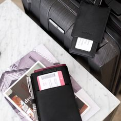 Stackers | Gifts For Him Holiday Packing Lists, Home Free, Pen Holders, Black Leather, Vegan Leather, Travel Bags, Gifts For Him, Passport, Black And Brown
