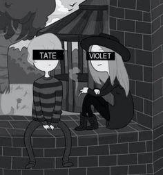 AHS Season 1 Murder House Tate & Violet