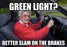 Bad Driver Barbara. Is she a new mee-mee?