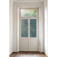 Features:  -Block unwanted views and viewers.  -Filters light and reduces glare.  -Great for shower doors, windows and cabinets.  Product Type: -Window sticker and film.  Theme: -Trees & Flowers.  Col