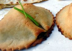 Gluten Free Mushroom Pastry  Can make with regular pastry