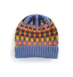 Fair Isle Hat Knitting Pattern PDF | Adult Slouchy Hat Pattern | Aran Yarn Beanie Pattern Fair Isle Knitting, Hand Knitting, Knitting Patterns, Beanie Pattern, Knit Beanie Hat, Slouchy Hat, Knitted Hats Kids, Hand Knitted Sweaters, Tejido Fair Isle