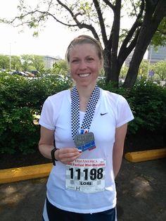 May 5, 2012 after the Mini Marathon