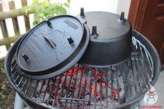 Der Dutch-Oven (DO): die gusseiserne Outdoorküche für den BBQ-Fan! Hier lassen sich einfach viele leckere Gerichte zubereiten.