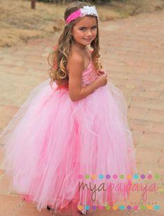Princess Tutu Dress Costume Juliet Tutu Dress by MyaPapayaBoutique, $95.00
