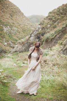 stole + dress | once wed