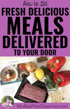How to Get Fresh Nutritious Meals Delivered to Your Door Meal Preparation, Easy Meal Prep, Easy Meals, Meals For Two, Kids Meals, Gluten Free Meal Delivery, Busy Teachers, J. R. R. Tolkien, Meal Delivery Service