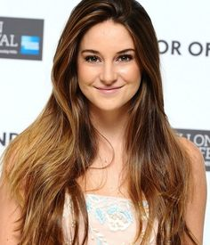 Shailene Woodley Sunkissed Hair