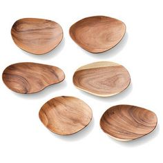 wooden sandwiches plates. Very organic and would go so well in my kitchen!