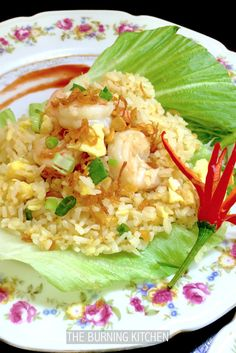 The Burning Kitchen | Egg and Prawn Fried Rice