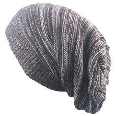 Shark-Illustration Beanie Hat Winter Solid Warm Knit Unisex Ski Skull Cap