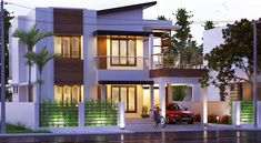 Find the best 7 Bedroom Villa for sale in Dubai Hills Estate, Dubai with haus & haus at 17095888 Two Storey House Plans, 2 Storey House Design, Small House Design, Modern House Design, Simple House Plans, House Floor Plans, 1500 Sq Ft House, Double Story House, Dubai