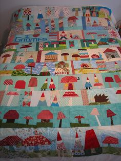 so happy to have all 10! this quilt top makes my heart sing! | Flickr - Photo Sharing!