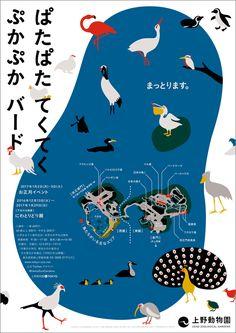 ぱたぱた てくてく ぷかぷか バード[2017年のお正月イベントと干支の企画展] | 東京ズーネット