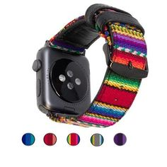 Global Artisan Bands For Apple Watch - Epic Watch Bands Cute Apple Watch Bands, Iphone Watch Bands, Apple Watch Wristbands, Apple Watch Accessories, Apple Watch Series, Bracelet Watch, Artisan, Watches, Bags