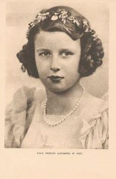 Young Princess Alexandra of Kent