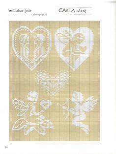 Gallery.ru / Фото #59 - 2 - OlgaHS Embroidery Works, Embroidery Thread, Cross Stitch Embroidery, Cross Stitch Patterns, Crochet Patterns, Small Cross Stitch, Cross Stitch Angels, Cross Stitch Rose, Crochet Placemats