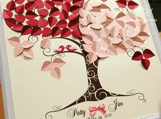 Hey, I found this really awesome Etsy listing at https://www.etsy.com/ru/listing/250780273/wedding-guest-book-ideas-love-birds-tree