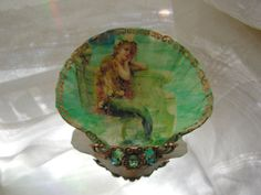 Little Mermaid Shell Jewelry Dish