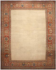 Antique Persian Bakshaish Rug 44812 Detail/Large View - By Nazmiyal
