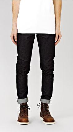 Selvage Denim Jean Denim Jeans, Black Jeans, I Love Ugly, Classic Man, Men Looks, Menswear, Photoshoot, Pants, Clothes