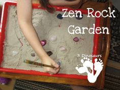 Rock Zen Garden - Great for Calming down - 3Dinosaurs.com