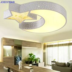 Super Ideas For Baby Bedroom Decoration Lamp Shades Light Fixtures Bedroom Ceiling, Modern Led Ceiling Lights, Kitchen Lighting Fixtures, Ceiling Decor, Star Ceiling, Kids Room Lighting, Foyer Lighting, Rustic Lighting, Bedroom Lighting