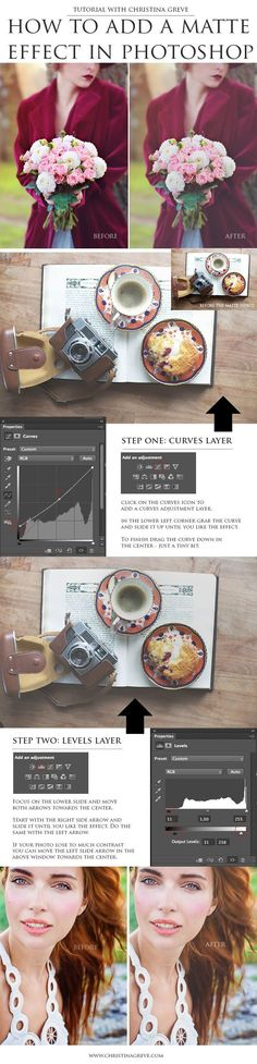 How to add a Matte Effect in Photoshop #TutorialsPhotoshopEasy