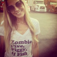"I want this shirt!!! ❤️gls (Rob Zombie shirt - ""Zombie, Five, Piggy & Fish"")"