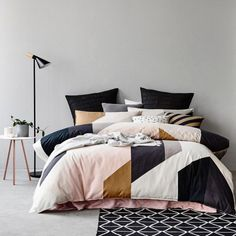 Boden Bedlinen - I like the colour combination for the bedroom