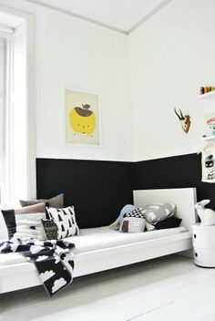 Pared de dos colores / Two color wall