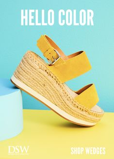 DSW has all the stylish shoes you need to match every outfit. Tap the Pin to learn more. Trendy Shoes, Cute Shoes, Me Too Shoes, All About Shoes, Shoe Game, Summer Shoes, New Shoes, Comfortable Shoes, Wedge Sandals