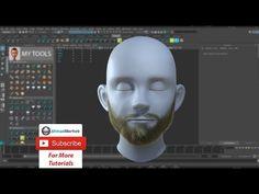 Creating Facial Hair for a Character With Maya xGen - Lesterbanks