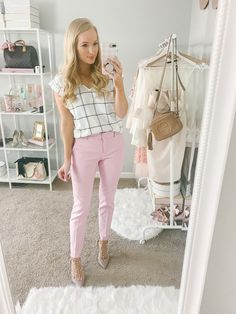 Elegant Work Casual Outfits To Your Casual Style Inspiration - Work Outfit - Fashionable Business Casual Outfits For Women, Business Outfits, Office Outfits, Chic Outfits, Business Attire, Classy Outfits, Fashion Outfits, Office Attire Women, Womens Fashion