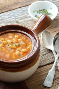 Smoked Paprika White Bean Stew 2