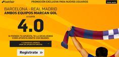 el forero jrvm y todos los bonos de deportes: betfair supercuota 4 Barcelona vs Real Madrid marc...
