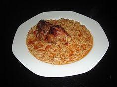 Greek Youvetsi With Lamb Recipe