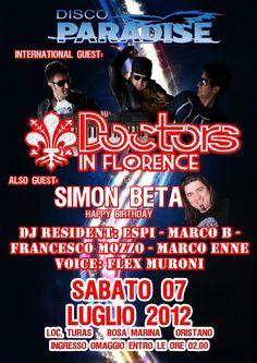 Paradise Disco Summer (Oristano) 07-07-2012