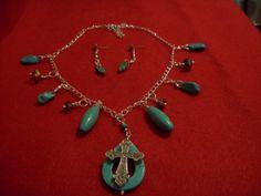 trquoise cross