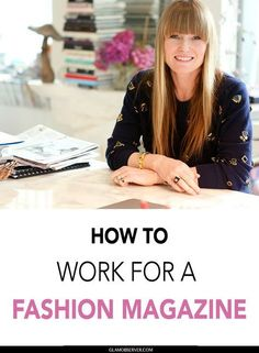 How to work for a fashion magazine , the story of Amy Astley the editor-in-chief of Teen Vogue will be your guide to start working for a fashion magazine and become a fashion editor Fashion Jobs, Student Fashion, Fashion Trends, Teen Vogue, Design Magazine, Fashion Journalism, Kylie, Dresser, Beauty Products