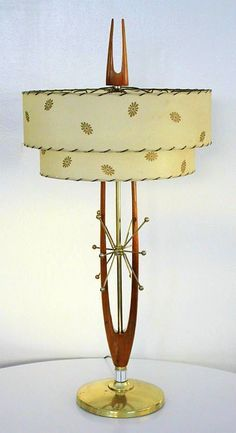 Atomic Mid Century Lamp