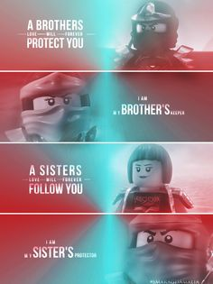 Lego Ninjago  A true meaning of Brothers and Sisters